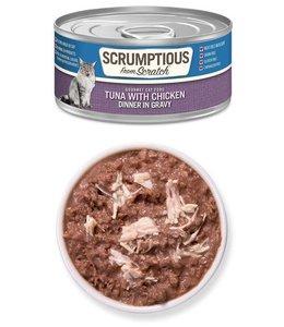 Scrumptious From Scratch Scrumptious Grain Free Tuna with Chicken - Dinner in Gravy 2.8 oz