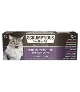 Scrumptious From Scratch Scrumptious Grain Free Variety Chicken, Tuna, & Sardines 2.8 oz