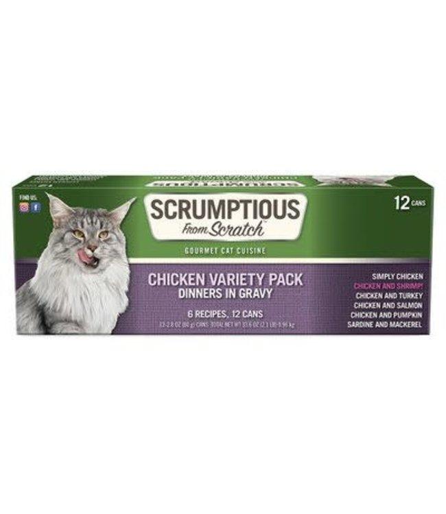 Scrumptious From Scratch Scrumptious Grain Free Variety of Chicken 2.8 oz
