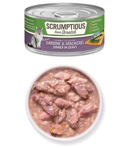 Scrumptious From Scratch Scrumptious Grain Free Sardines & Mackerel 2.8 oz