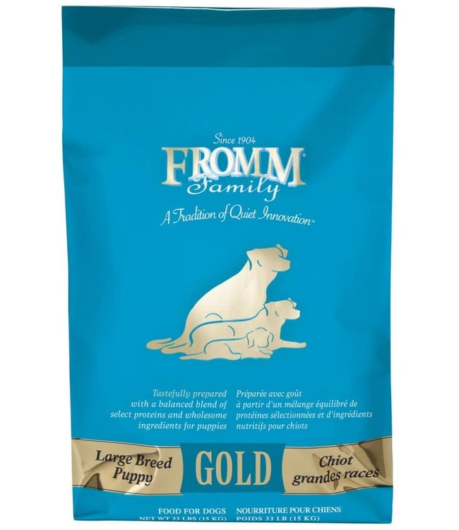 Fromm Family Foods Fromm Gold Dog Dry Puppy Large Breed 33#