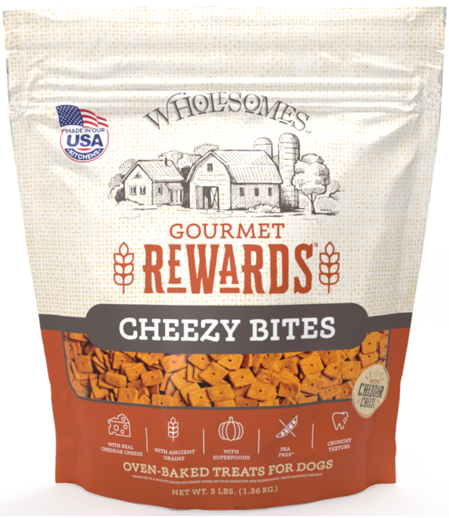 SPORTMiX® SPORTMiX® Wholesomes™ Gourmet Biscuit Treats with Real Cheddar Cheese 3 lbs