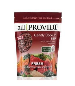 All Provide All Provide Frozen Gently Cooked Beef 2lb