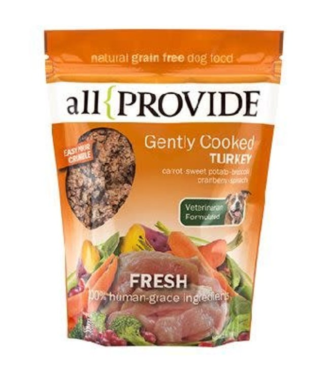 All Provide All Provide Frozen Gently Cooked Turkey 2lb