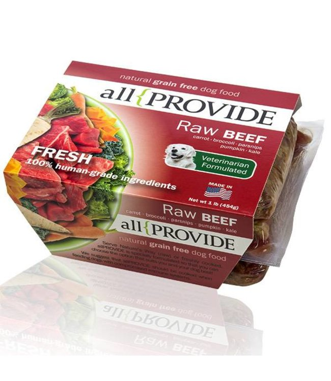 All Provide All Provide Raw Beef 2lb