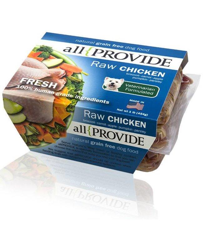 All Provide All Provide Raw Chicken 2lb