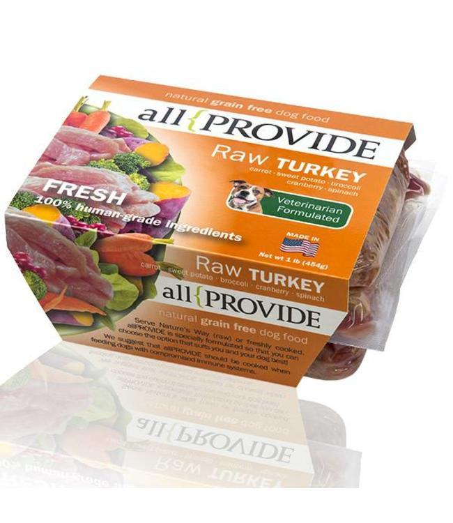 All Provide All Provide Raw Turkey 2lb