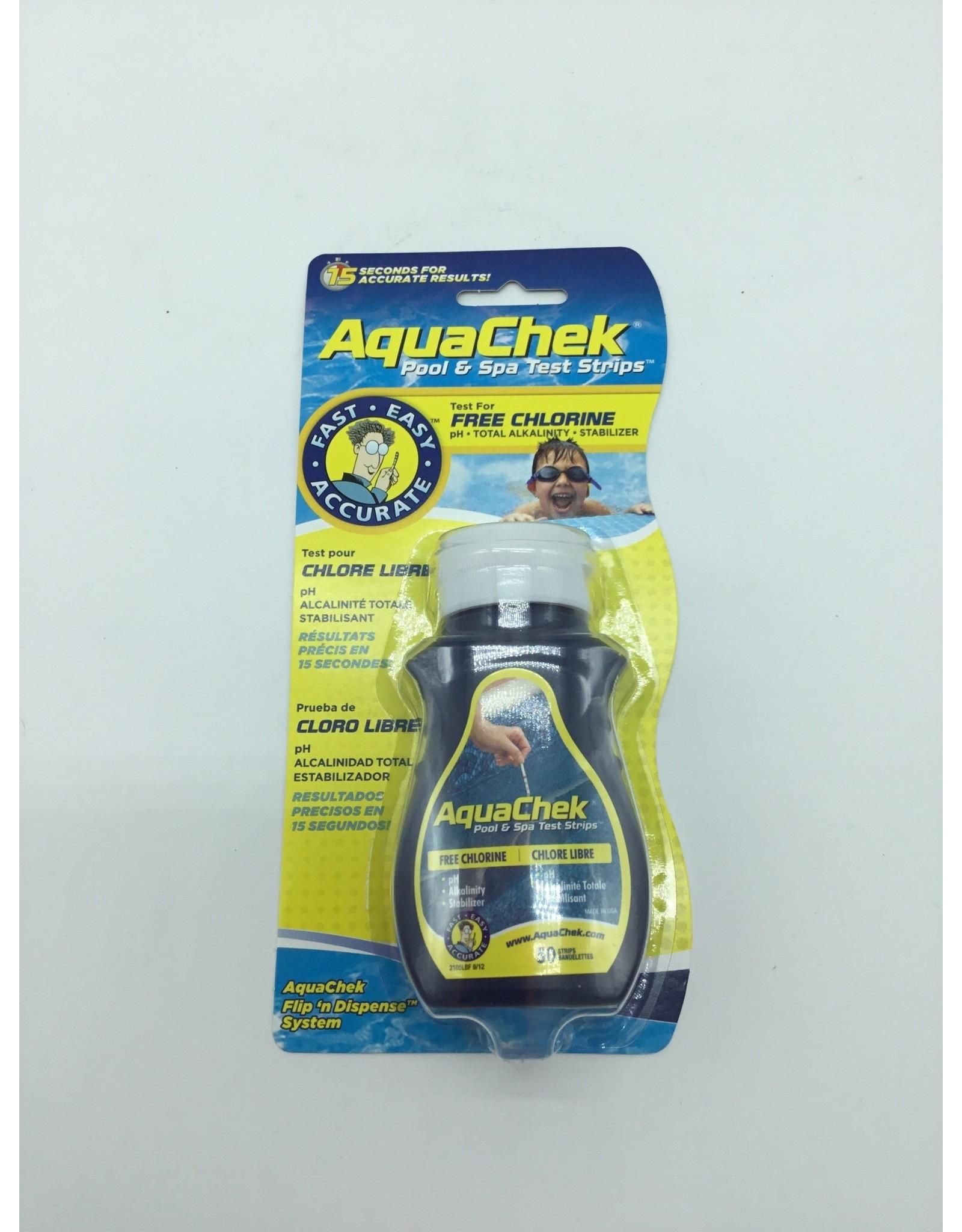 Capo Industries Aquachek 3 test strips Yellow Ch Ph Alk