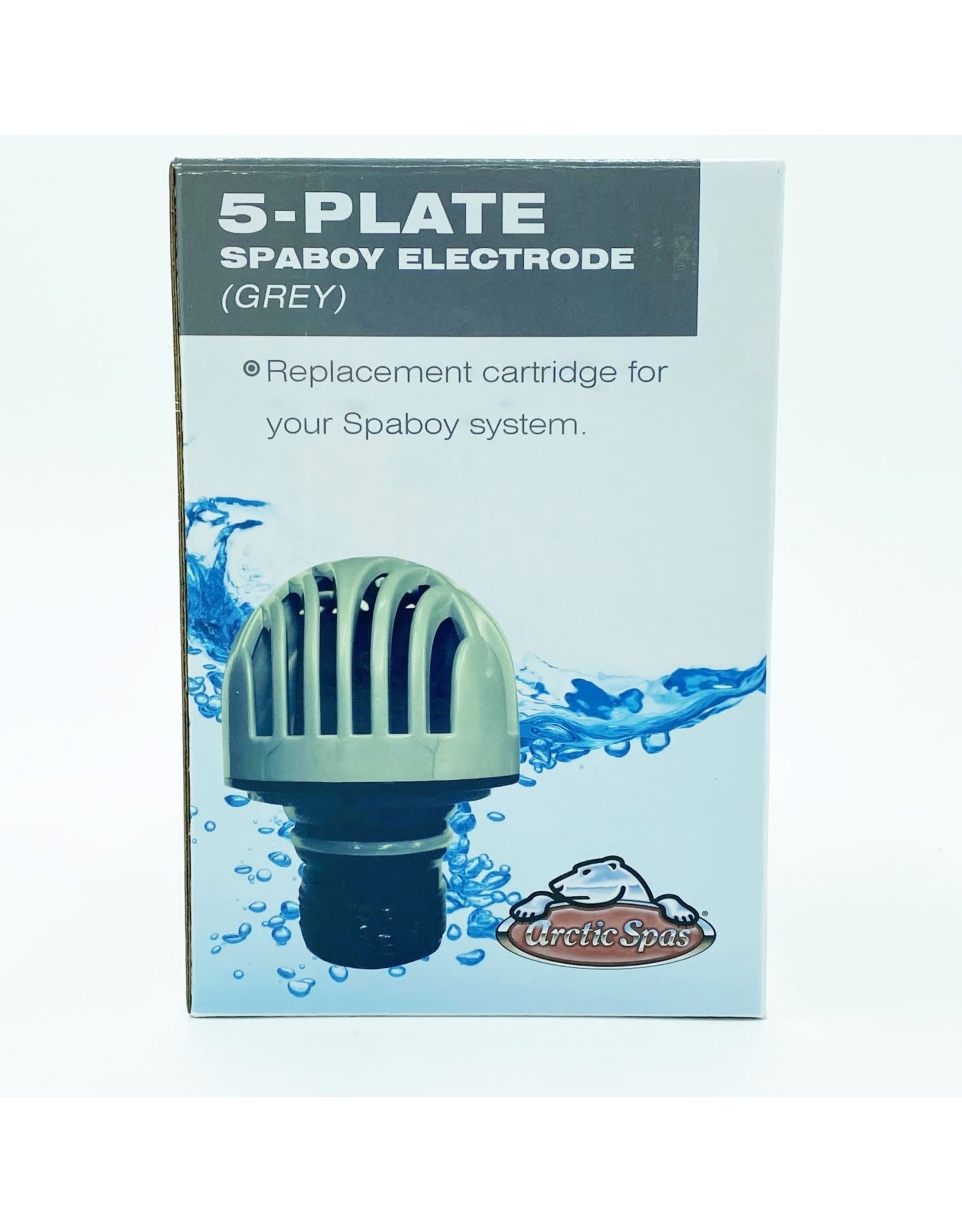 Blue Falls Manufacturing SpaBoy Electrode Salt Cell Replacement Cartridge Grey 5 Plate