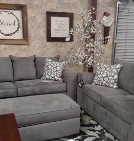 United Venture Smoke Sofa and Love Seat Set