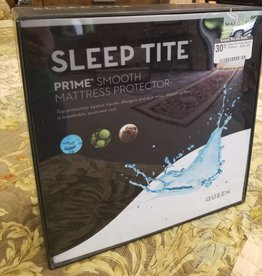 Sleep Tite Pr!me Smooth Protector - Queen Size Mattress Pad