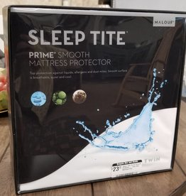 Malouf Sleep Tite Pr!me Smooth Protector - Twin Size Mattress Pad