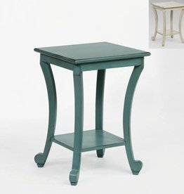 Crownmark Claire Side Table - Aqua