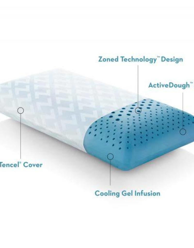 Z Zoned Activedough Gel Pillow Mid Loft Bargain Box