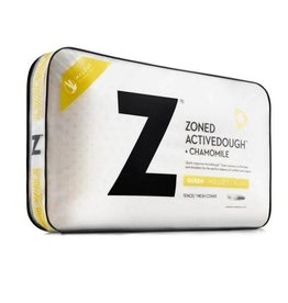 Malouf Z Zoned ActiveDough Chamomile Pillow w/ Aromatherapy Spray - Mid loft
