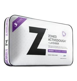 Z Zoned ActiveDough Lavender Pillow w/ Aromatherapy Spray - Mid Loft