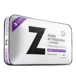 Z Zoned ActiveDough Lavender Pillow w/ Aromatherapy Spray - Mid Loft