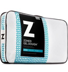 Malouf Z Zoned Gel Dough Pillow - Low Loft
