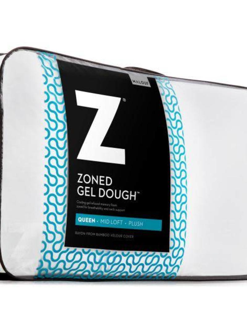 Z Zoned Gel Dough Pillow Low Loft Bargain Box And Bunks