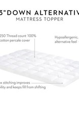 "Islous 3"" Down Alternative Mattress Topper - King Size"
