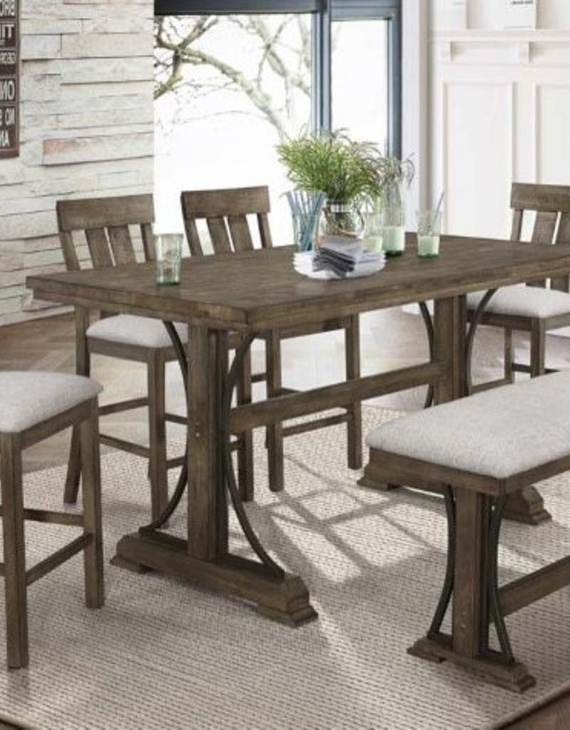 new arrival 87244 dbac4 Crownmark Quincy Table w/ 4 Chairs & Bench