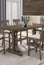 Crownmark Quincy Table with 4 chairs and bench