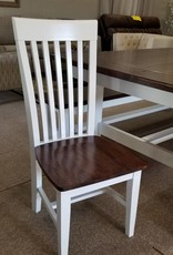 Whitewood Mission Style Chair  - W/ Stock Finish
