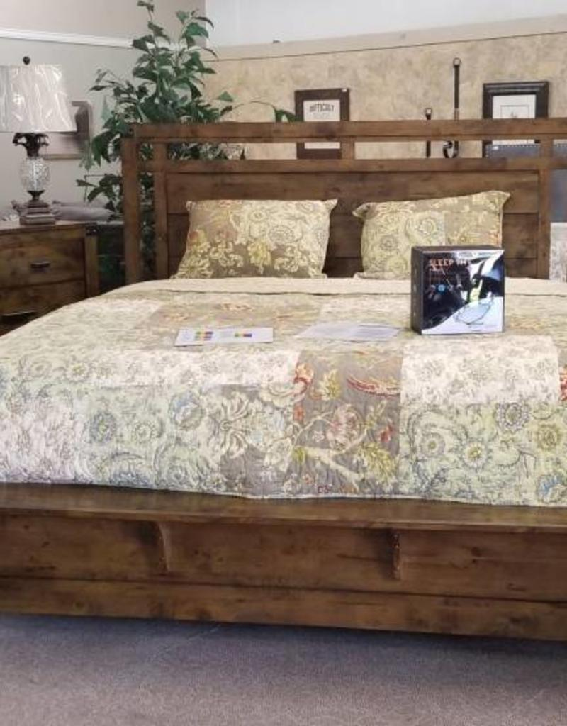 Curtis Panel Bedroom Set - Queen Size - Bargain Box and Bunks