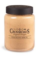 Crossroads Crackling Birch Candle 26 oz