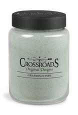 Crossroads 26oz Candle Grandpa's Pipe