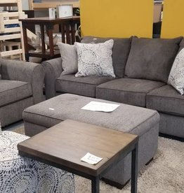United Harlow Ash 3 Piece Set. Sofa, Chair 1/2 and Ottoman
