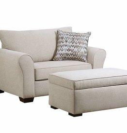 United Boston Linen Chair 1/2