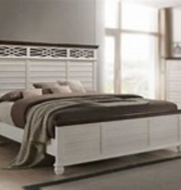 United BelleBrooke King Bedroom Set-White