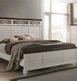 United BelleBrooke Queen Bedroom Set-White