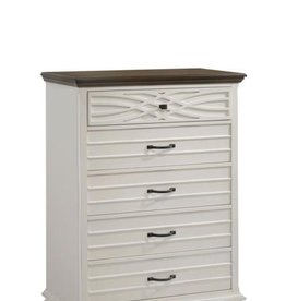 United BelleBrooke Chest of Drawers-White
