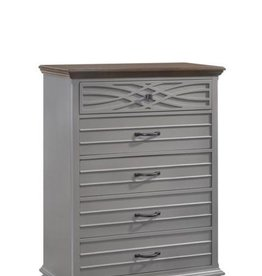 United BelleBrooke Chest of Drawers-Gray