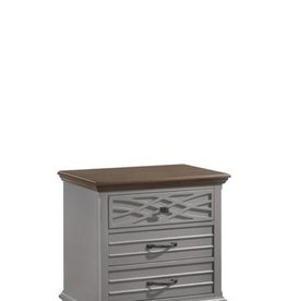 United BelleBrooke Nightstand-Gray
