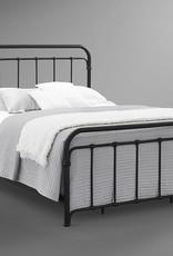 Bernards Shelby Black Metal Bed