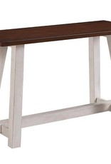 Bernards Winslow 2-Tone Sofa Table