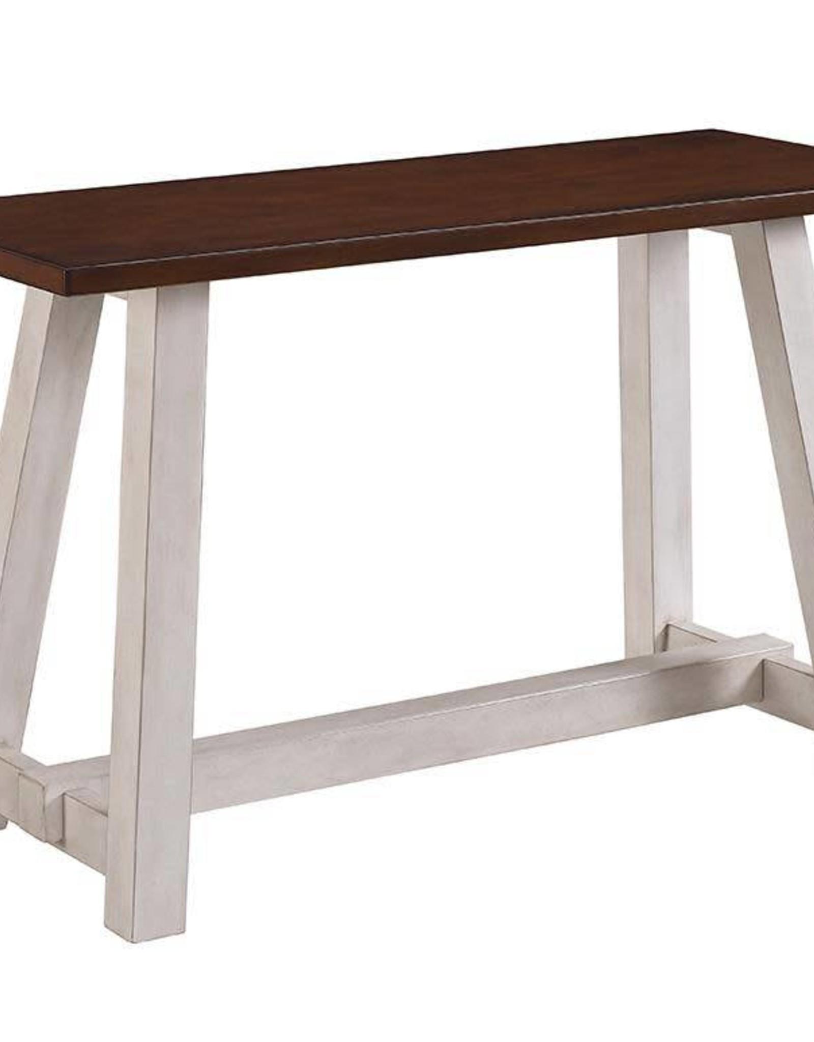 Bernards Winslow 2-Tone Sofa Table