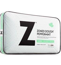 Z Zoned ActiveDough Peppermint Pillow w/ Aromatherapy Spray - Mid Loft