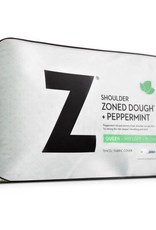 Z Shoulder Cutout Zoned Dough Pillow - Peppermint