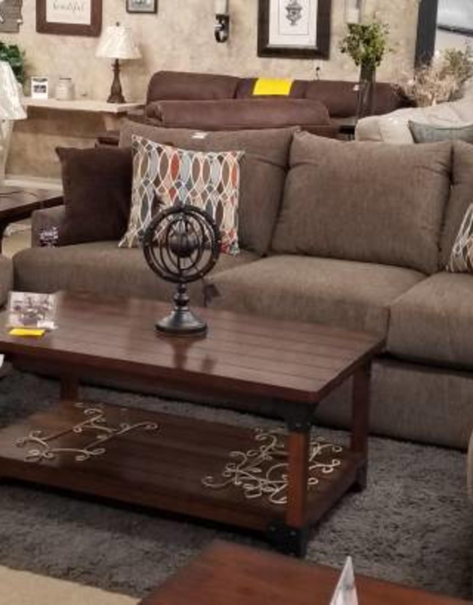 Lane Grandstand Walnut Sofa, Loveseat and Chair