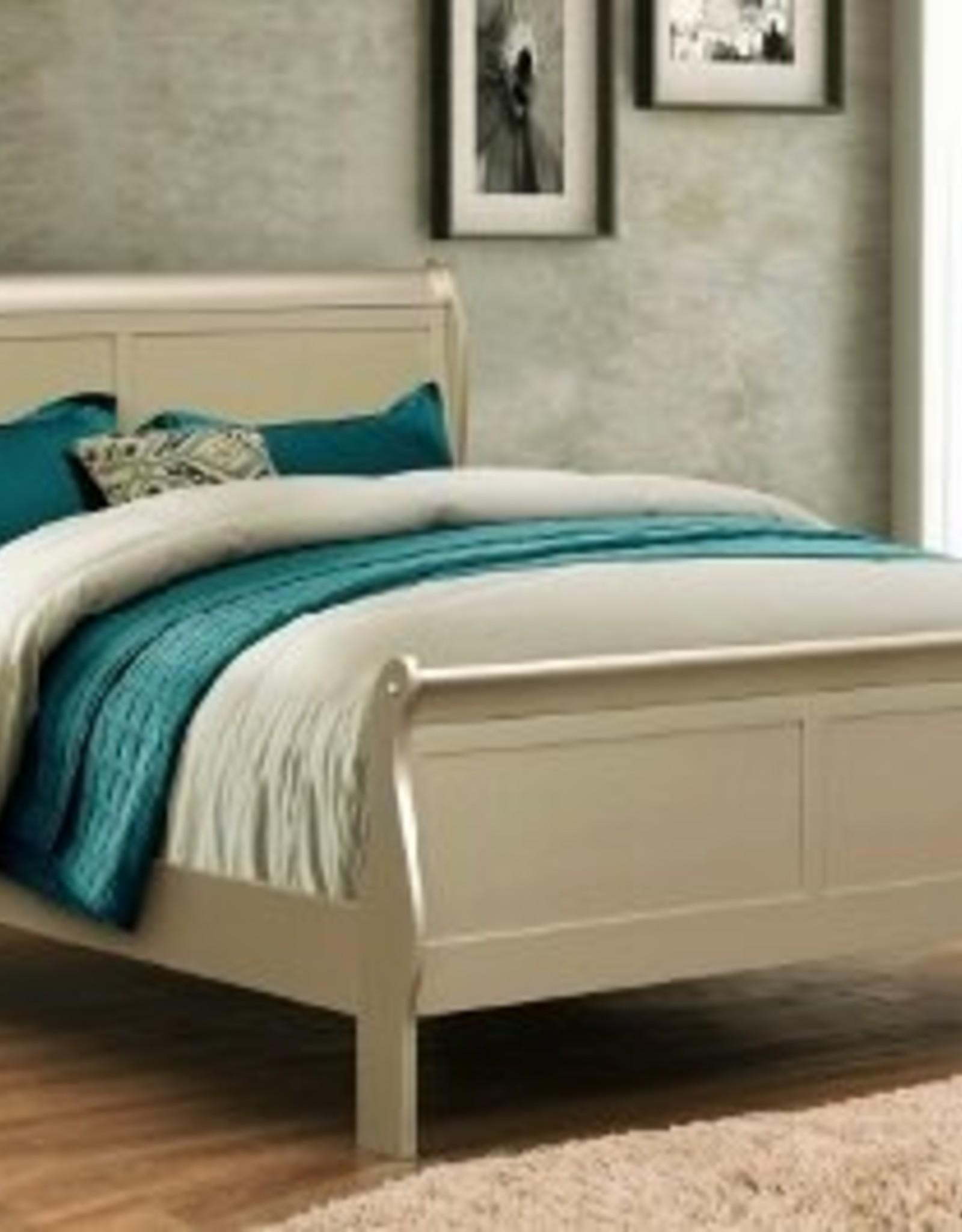 Crownmark Louis Philipe Sleigh Bed