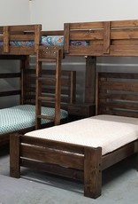 Bargain Bunks Hat Trick Triple Bunk w/ 2 Plank Beds