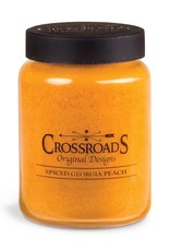 Crossroads Spiced Georgia Peach Candle (26oz)