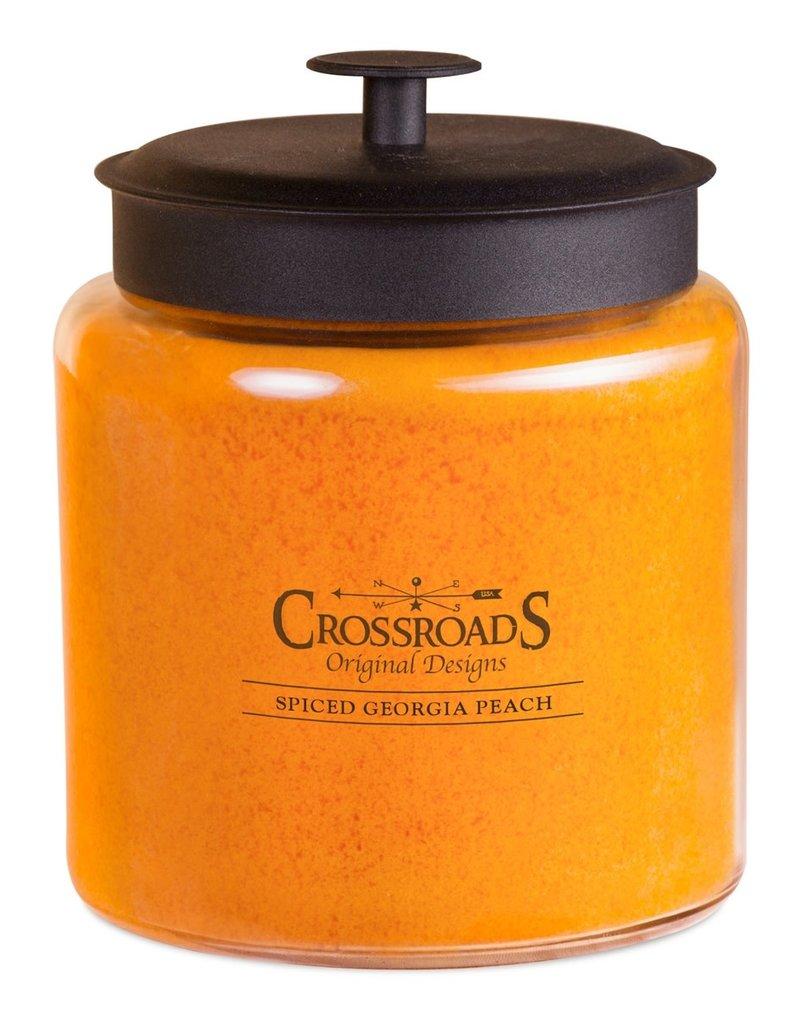 Crossroads Spiced Georgia Peach Candle (96oz)