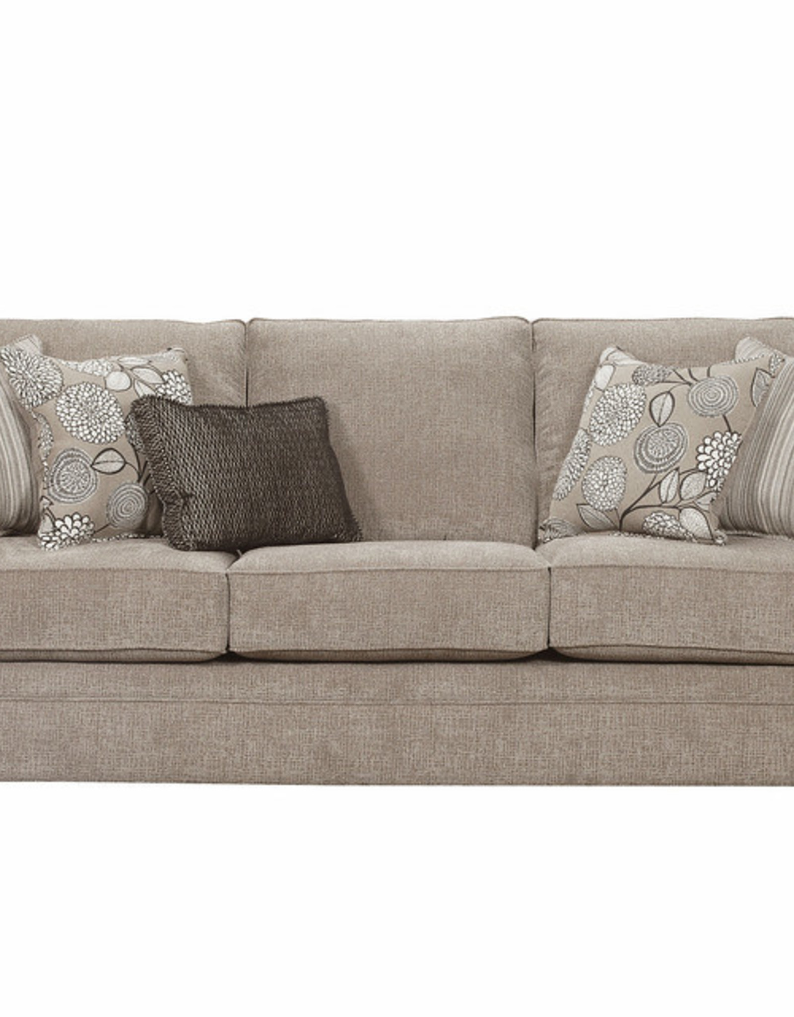 United Macey Pewter Sofa and Loveseat Set