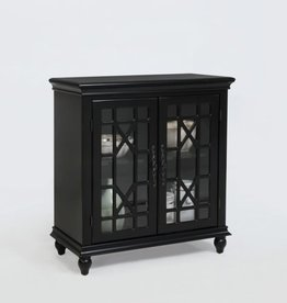 Crownmark Francesca Cabinet-Black