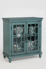 Crownmark Francesca Cabinet - Aqua